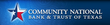 Community National Bank & Trust of Texas Logo